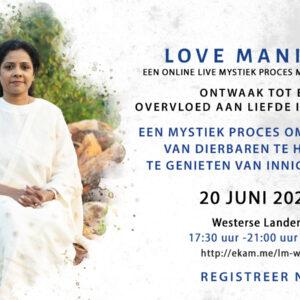 Manifest voor liefde – 20 juni 2021